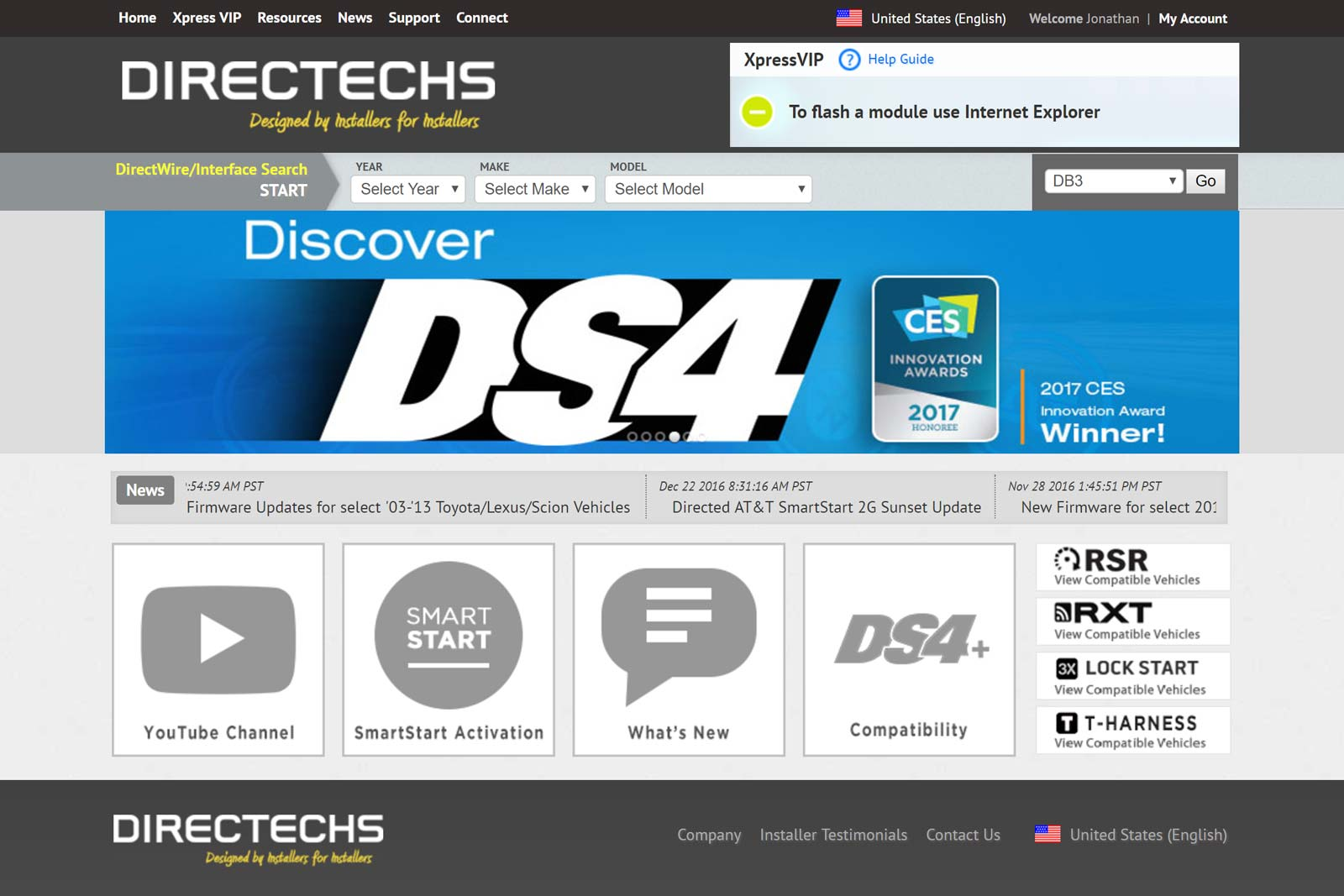 Directechs Home Page