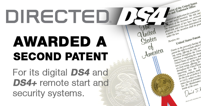 Directed Annouces Awarded Second Patent for Digital DS4