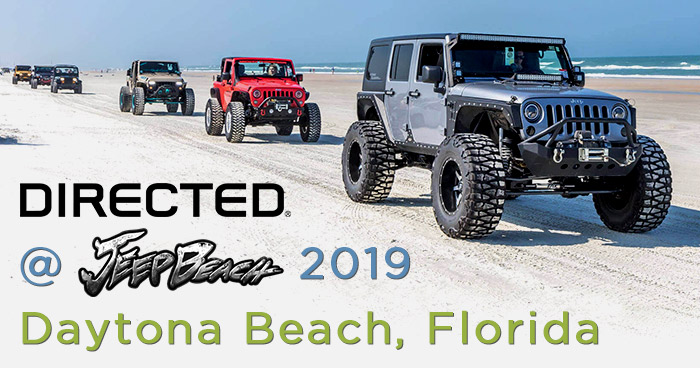 Directed Announces Attendance at Jeep Beach in Daytona Beach