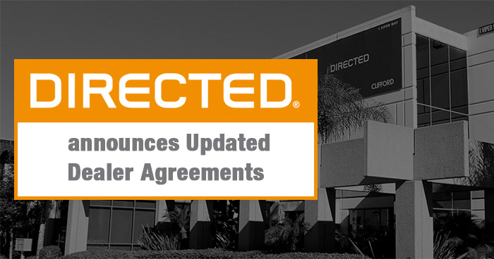Directed Announces Updated Dealer Agreements to Protect and Empower Brick and Mortar Retailers
