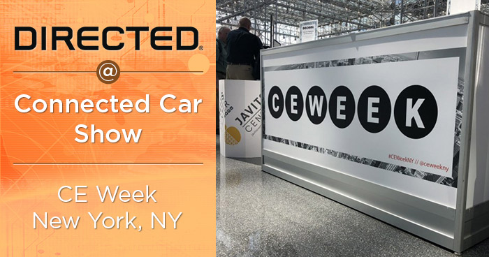 Directed Shows at the Connected Car Show at CE Week in New York
