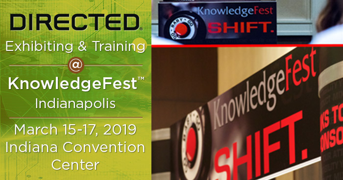 Directed Exhibiting and Training at KnowledgeFest Indianapolis
