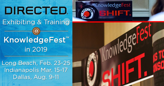 Directed Exhibiting and Training at Knowledgefest Shows in 2019