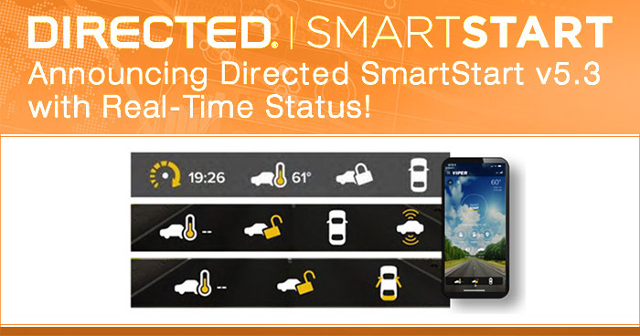 Directed Releases SmartStart v5.3 with Real-Time Vehicle Status