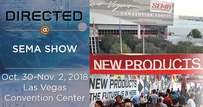Directed Returns to SEMA Show Highlighting Market Leading Products